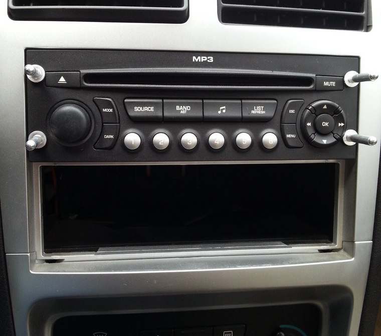 Service Manual Car Stereo Fitting Car Stereo Removal
