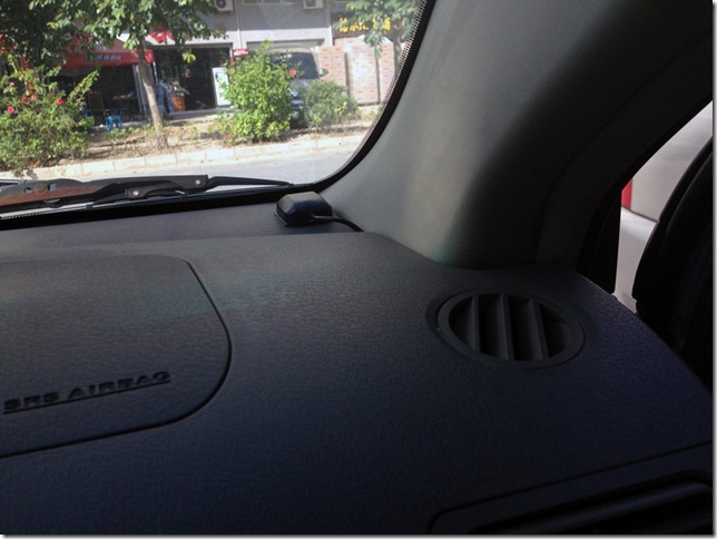 mount gps antenna on vehicle
