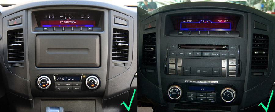 Android OS Navigation Radio Player For Mitsubishi Montero Pajero