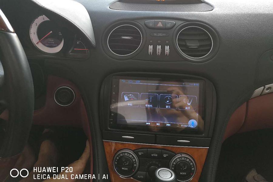 Mercedes-Benz SL-R230 Aftermarket Navigation Player