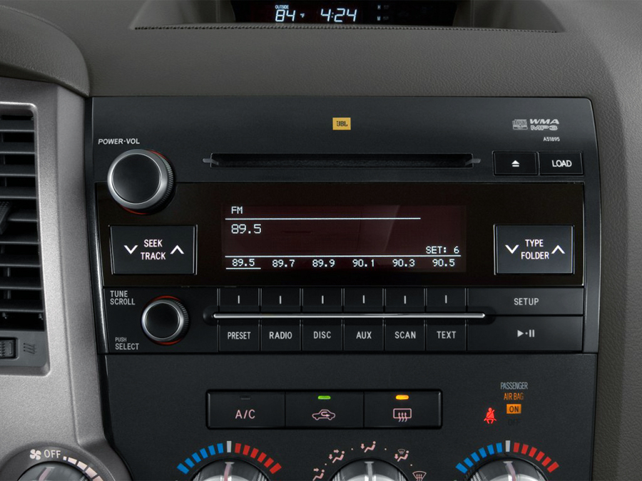 Toyota Sequoia Tundra factory radio