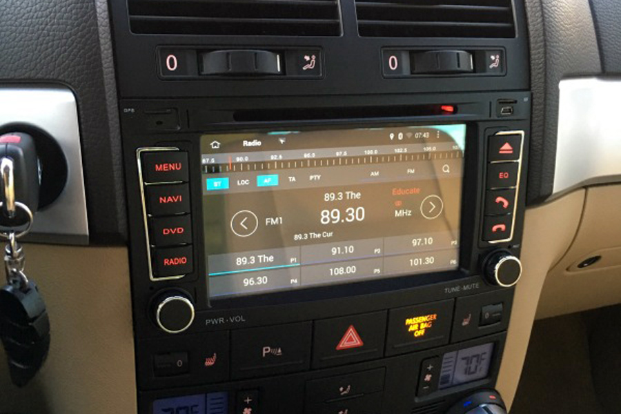 7402 volkswagen touareg android 6 0 os gps navigation head unit  at virtualis.co