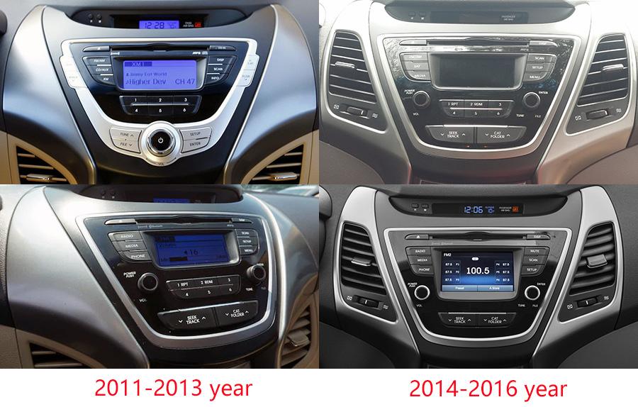 Aftermarket Navigation Radio For Hyundai Elantra 2011-2016