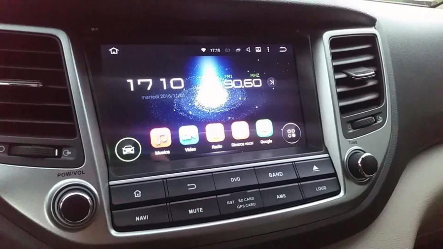 Hyundai Ix 2017 Aftermarket Navigation Autoradio