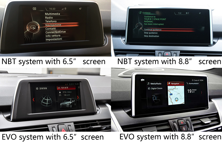 Bmw 2 Series Active Tourer F45   Gran Tourer F46  Radio Upgrade   Aftermarket Navigation Car