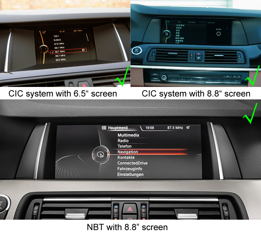 bmw 5 series f10 f11 f07 f18 gps navigation head unit. Black Bedroom Furniture Sets. Home Design Ideas