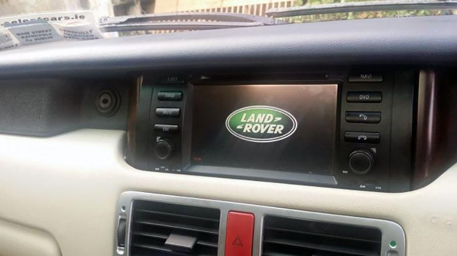 Aftermarket Navigation Stereo For Land Rover Range Rover