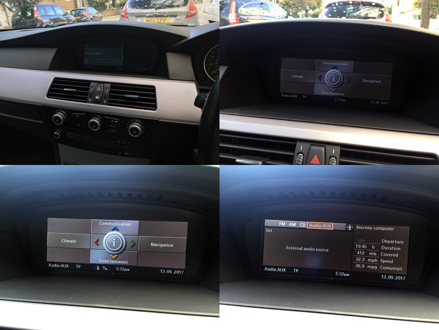 BMW 5 Series(E60/E61)/M5 GPS Navigation Head Unit