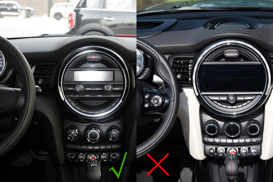 android 7 1 os navigation dvd player for mini cooper 2014 2016. Black Bedroom Furniture Sets. Home Design Ideas