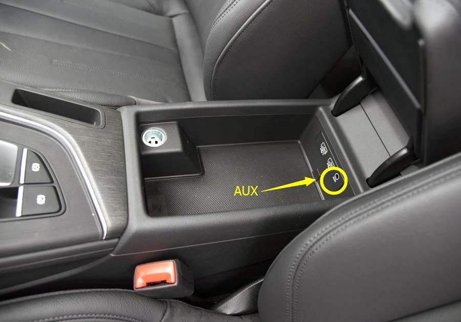 Audi A4(B9) 2015-2017 GPS Navigation Head Unit