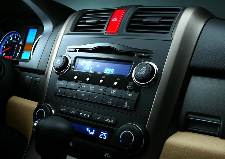 Aftermarket Navigation Radio For Honda CR-V 2007-2011