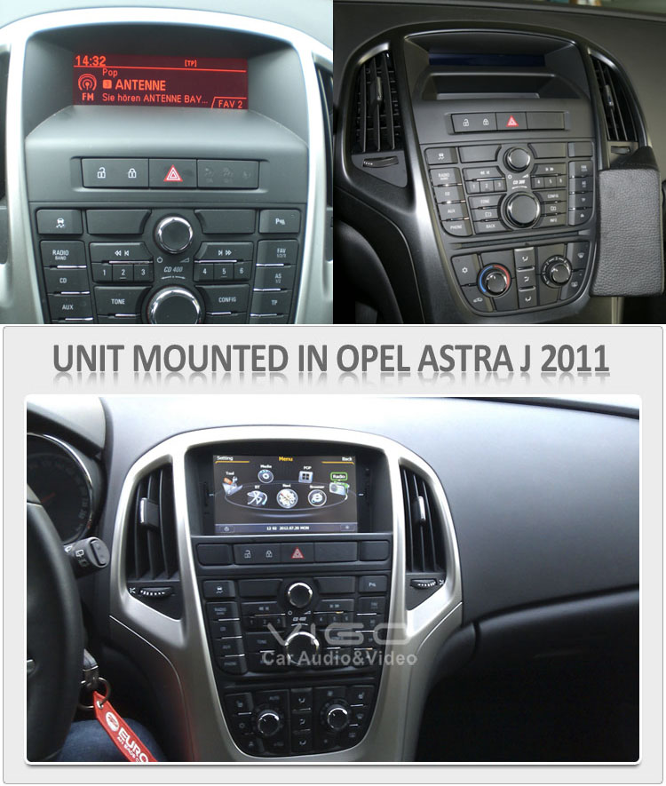 opel astra j 2009 2013 aftermarket sat navigation system. Black Bedroom Furniture Sets. Home Design Ideas