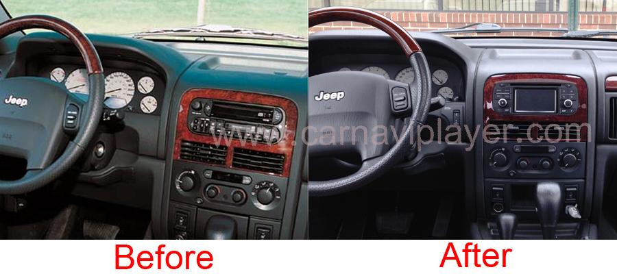 Jeep navigation