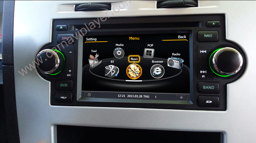 jeep aftermarket navigation car dvd player