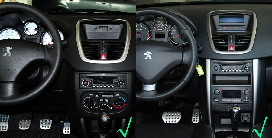 peugeot 207 2009 2013 navigation radio player. Black Bedroom Furniture Sets. Home Design Ideas