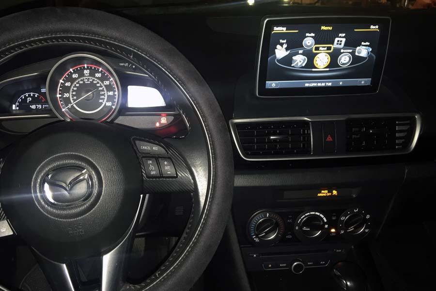 Mazda 3 2017 2016 Aftermarket Navigation Auto Radio
