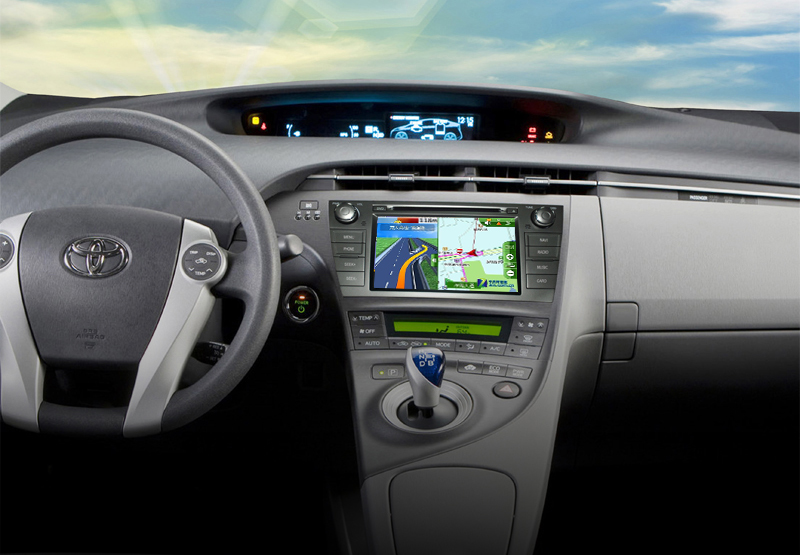 Toyota Prius Aftermarket Navigation Car Stereo : Aftermarket