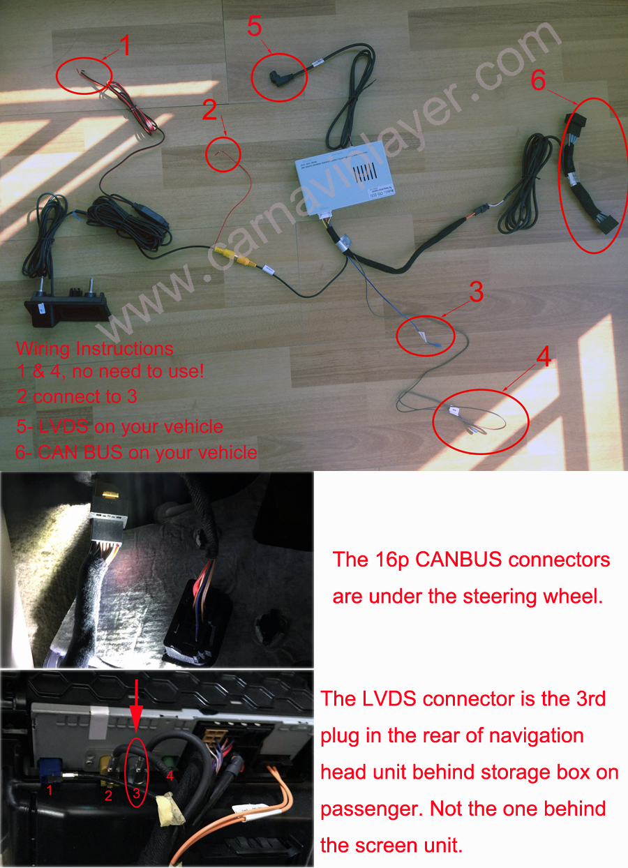 CVS 2131A 5 vw touareg 2011 2014 rear view camera Basic Electrical Wiring Diagrams at virtualis.co