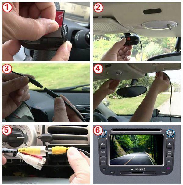 car digital video recoder installation manual
