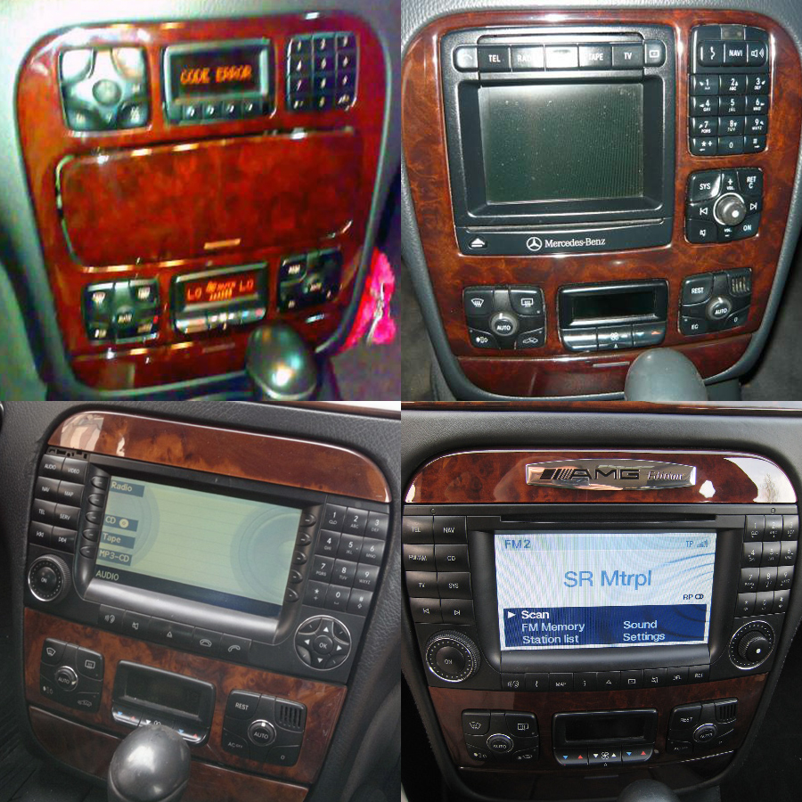 Mercedes-Benz s w220 Aftermarket Navigation Player
