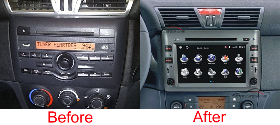 fiat stilo aftermarket navigation head unit. Black Bedroom Furniture Sets. Home Design Ideas