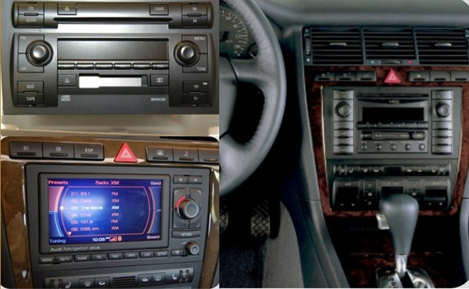 navigatie audi a8 cu sistem android caraudiomarket craiova