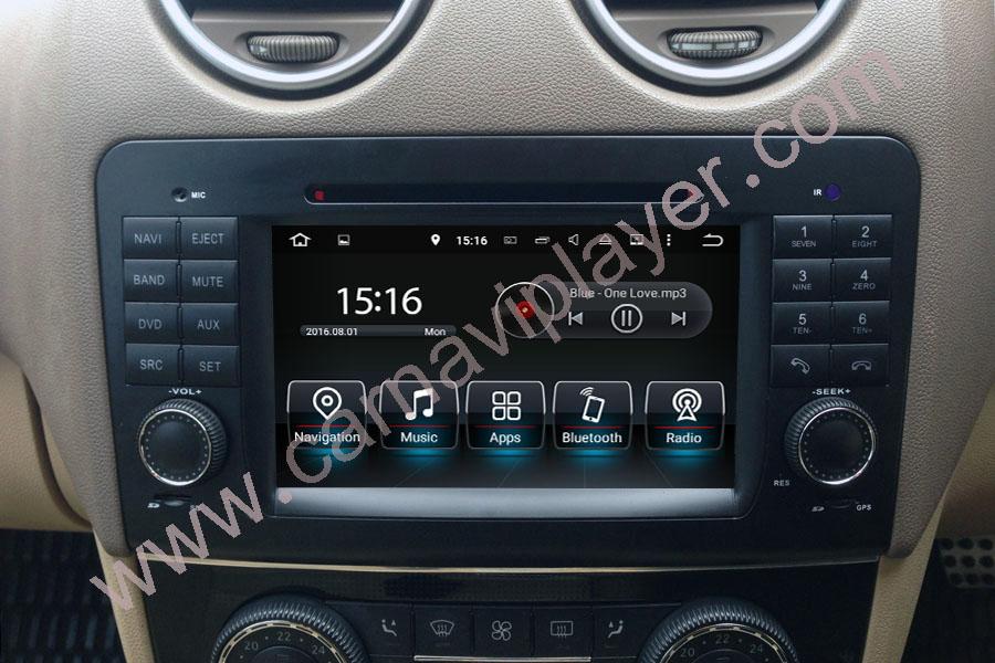 Mercedes-Benz GL-X164/ML-W164 Aftermarket Navigation Player