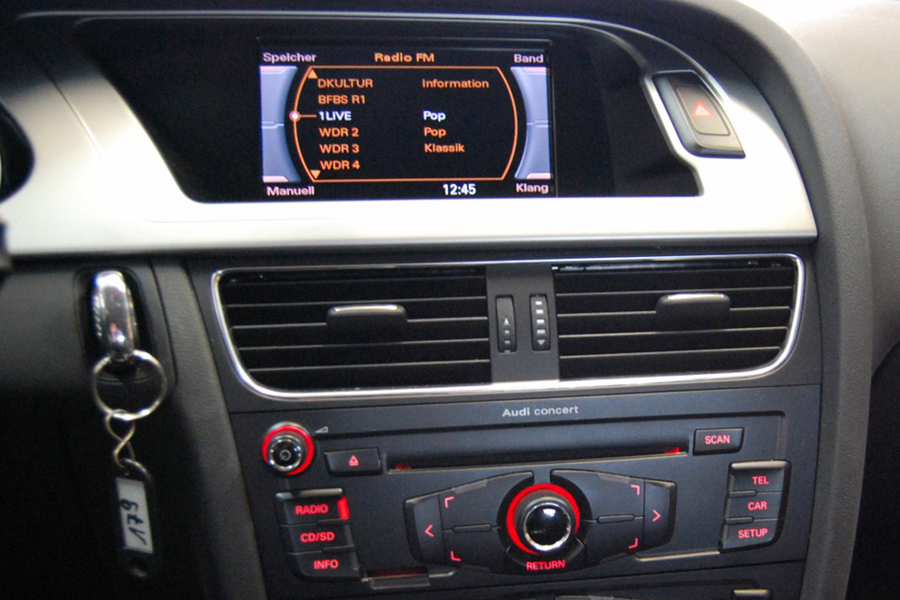 audi a4 s4 rs4 a5 b8 gps navigation dvd car stereo 2007 2015. Black Bedroom Furniture Sets. Home Design Ideas