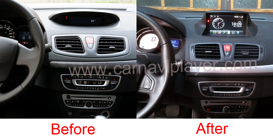 Android Os Navigation Radio Player For Renault Megane Iii