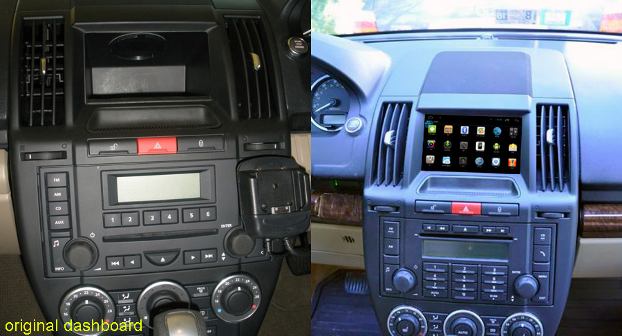 Land Rover Discovery 2 Radio Replacement
