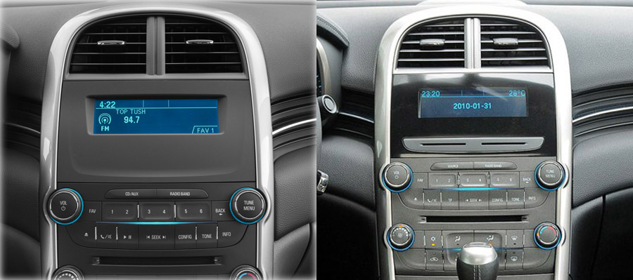 Chevrolet Malibu 2013-2015 factory radio