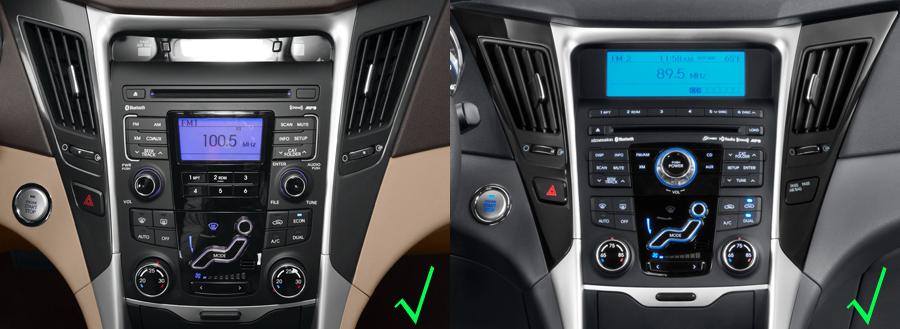 Hyundai Sonata Aftermarket Gps Navigation Car Stereo 2011