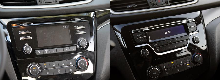 Nissan Qashqai/X-Trail 2014-2016 navigation
