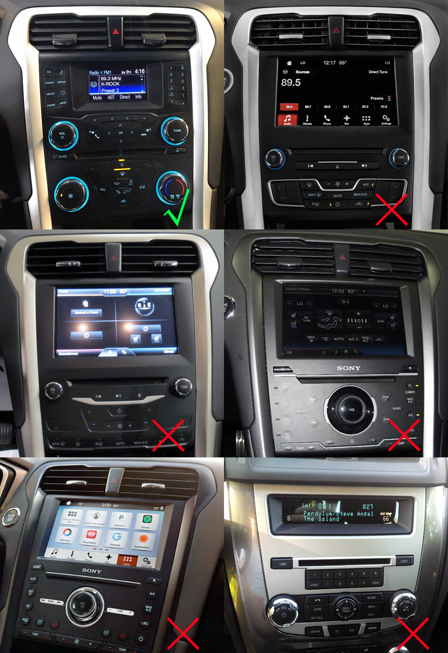 Ford Fusion Aftermarket Gps Navigation Car Stereo  2013