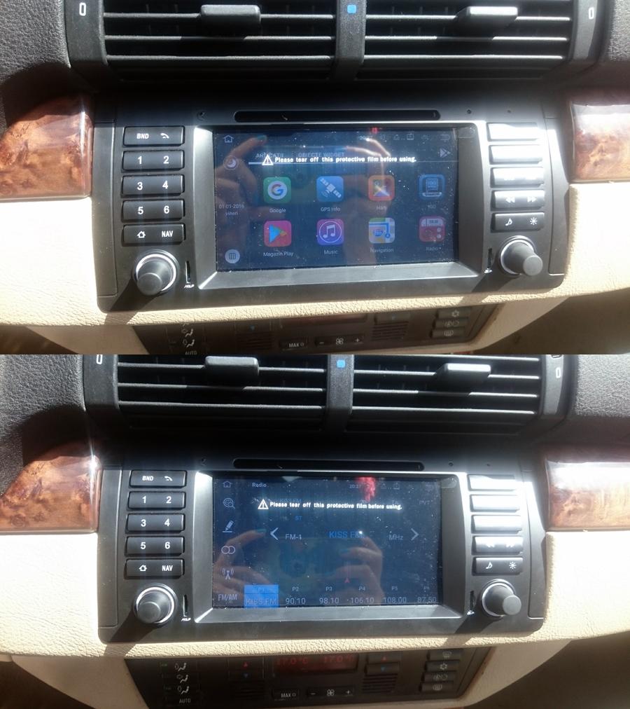 BMW 5 Series(E39)/M5(E39)/X5(E53) GPS Navigation Head Unit