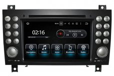 Mercedes-Benz SLK-Class (R171) 2004-2010 radio upgrade