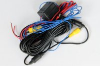 Camera power & video cord for Germany car