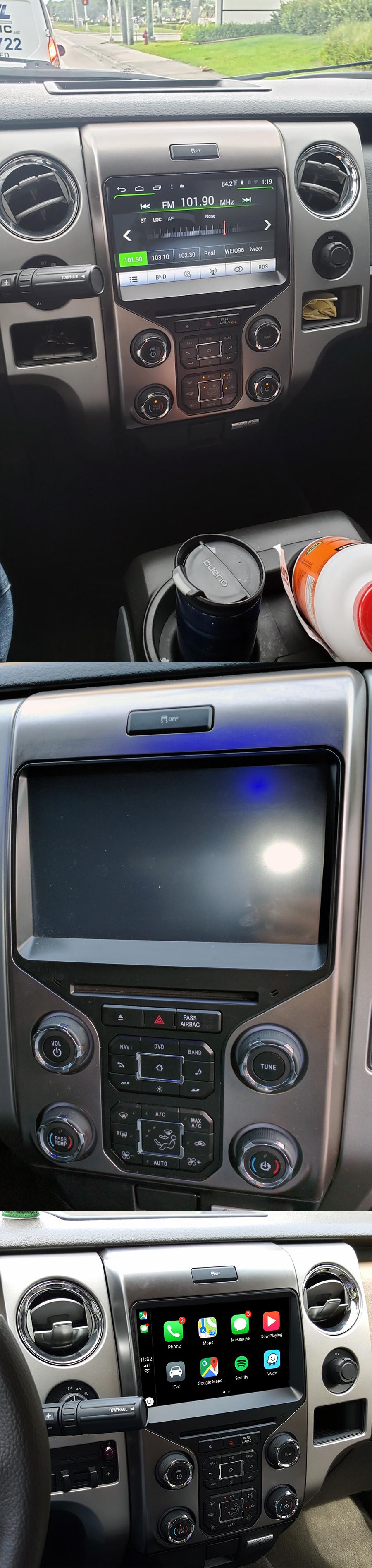 Aftermarket Navigation Head Unit For Ford F-150 2013-2014