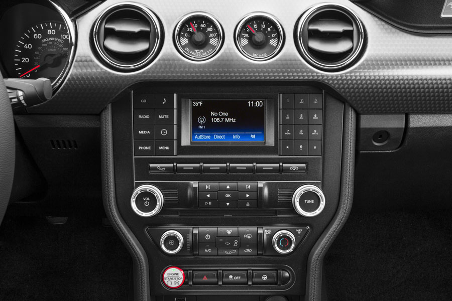 ford mustang stock radio