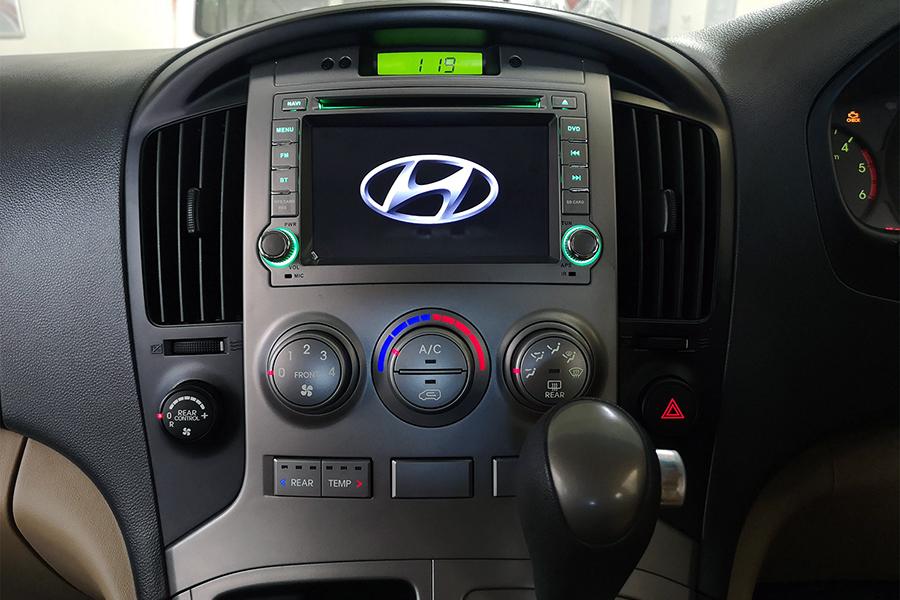 Hyundai H1 2007-2012 Aftermarket Radio Upgrade