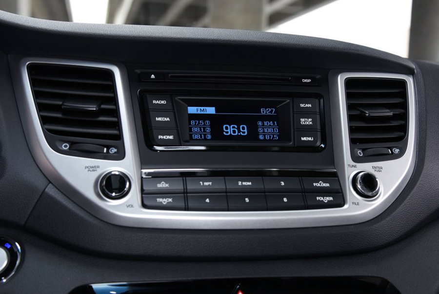 Hyundai ix35/Tucson 2015-2017 aftermarket navigation head unit