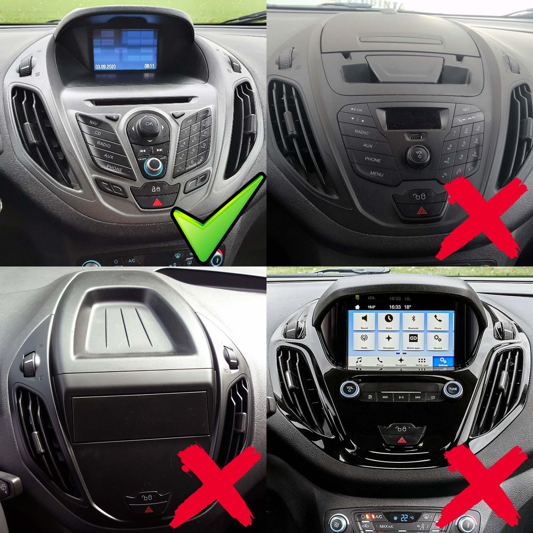 Ford Tourneo/Transit courier 2014-2017 radio upgrade