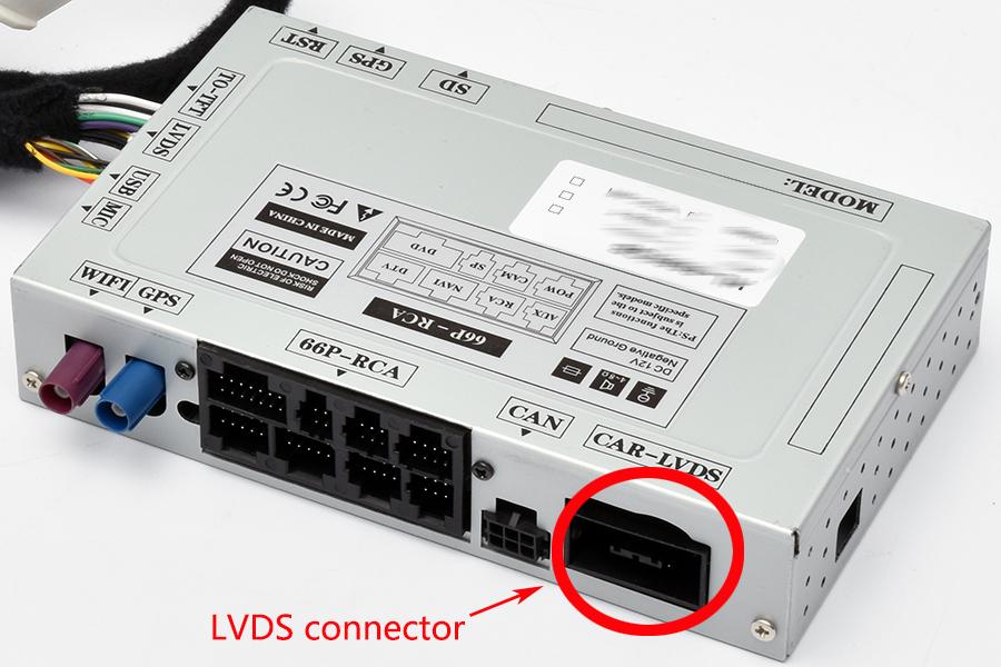 AUDI LVDS CONNECTOR