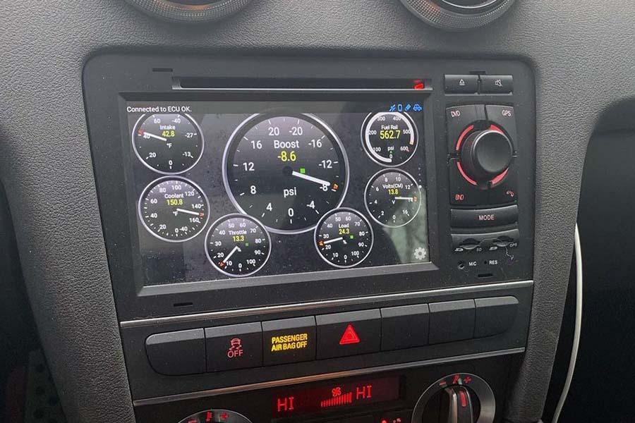 Audi TT/TTS 2006-2013 Autoradio GPS Navigation Head Unit