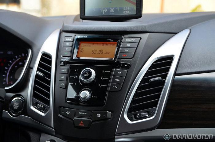 SsangYong Korando 2014 Aftermarket Navigation Car Stereo